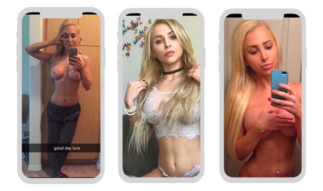 AlexLyn Nude Snapchats