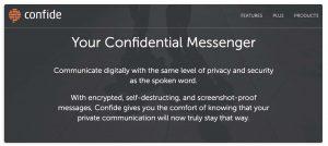 Confide Messanger